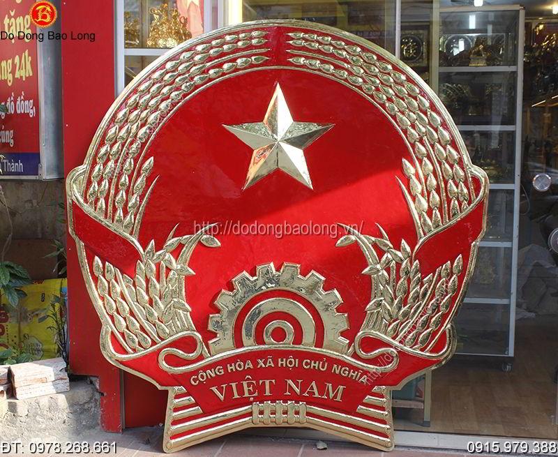 Logo huy hiệu đồng